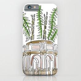 San Francisco, Pasta, Fern iPhone Case