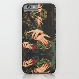 Touch Plants iPhone Case