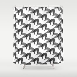 Abstract surface pattern design Shower Curtain