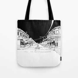 My morning coffee at Gertrude Street Tote Bag