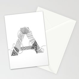 "Zenletter ""A"" Stationery Cards"