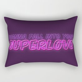 SuperLove / Charli XCX Rectangular Pillow