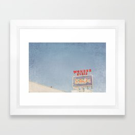 Wonder Bread Framed Art Print