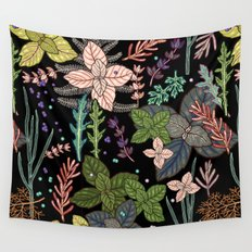 mysterious herbs Wall Tapestry