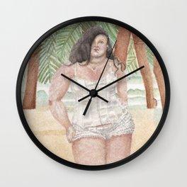 summer in mazatlan Wall Clock