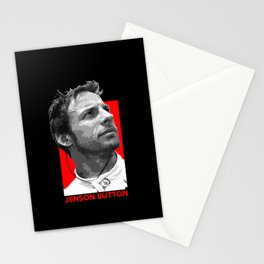 Formula One - Jenson Button Stationery Cards