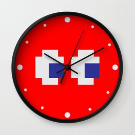 Retro Game Ghost Wall Clock