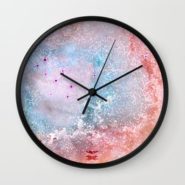 Rosetta Nebula Wall Clock