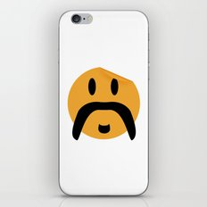 Moustache 12 iPhone & iPod Skin