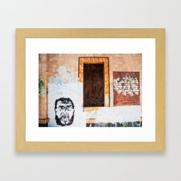 Decaying Building. NSW. Australia. Framed Art Print