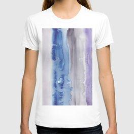 26    190907   Watercolor Abstract Painting T-shirt