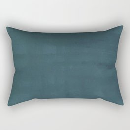 Crosshatch in Blue Rectangular Pillow