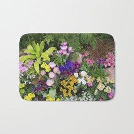 Floral Spectacular - Spring Flower Show Bath Mat