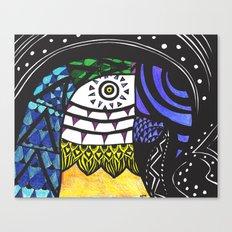 It's Parrot Time Canvas Print