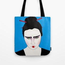 Grumpy Geisha // Japanese Style Tote Bag