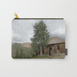 Remnants of Ironton, of the 1880's Gold Rush Carry-All Pouch