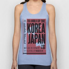 World Cup: Korea/Japan 2002 Unisex Tank Top
