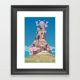 BEN LESSA SATINI Framed Art Print