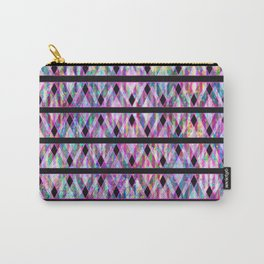 Geometric Glossy Pattern G330 Carry-All Pouch