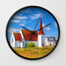 The Village Church Wall Clock