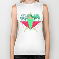 camel Biker Tanks featuring Camel Kiss by AmDuf