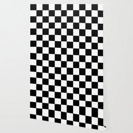 Checkerboard (LF) - (Collection Black & White) Wallpaper