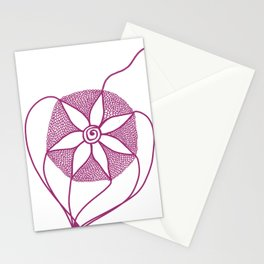 Pretty in Pink (Let go!) Stationery Cards