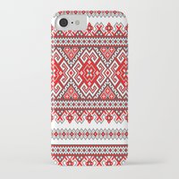 ukraine iPhone & iPod Cases featuring Ukraine-ornament 2 by  Nikolay Ampilogow