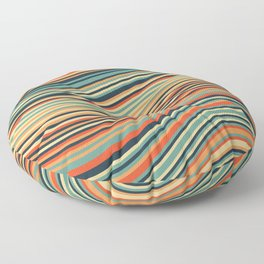 Calm Summer Sea Floor Pillow