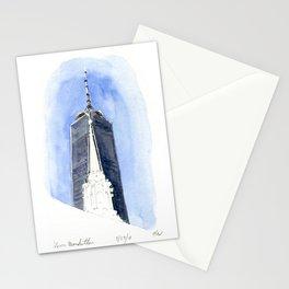 Lower Manhattan . - One World Trade Stationery Cards