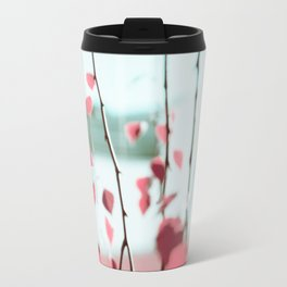 nature in pink  Travel Mug