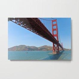 The Golden Gate Metal Print