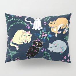 Garden Kitties Pillow Sham