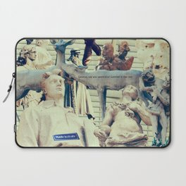 Come to me, I'll rest your soul Laptop Sleeve