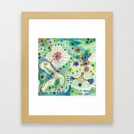 Ink Washes Framed Art Print