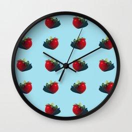 Les Fraises Wall Clock