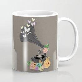 Gramaphone Bloom Coffee Mug