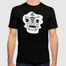stencil face TEE invert T-shirt