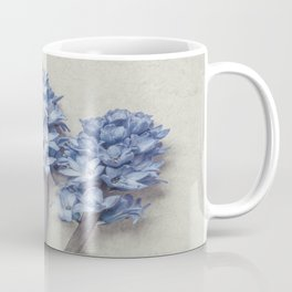 Light Blue Hyacinths Coffee Mug