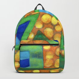 Collection of different Shapes with Double Fillings Backpack