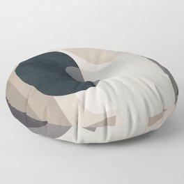 Abstract Geometric Art 52 Floor Pillow