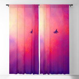Reaching For The Stars Blackout Curtain