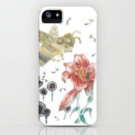 Bee Happy 1 iPhone Case