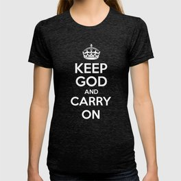Keep God and Carry On - Red Book T-shirt