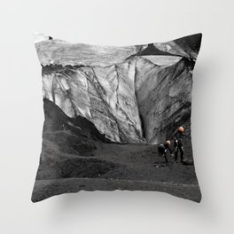 Mammothed Throw Pillow