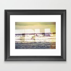 F.R.E.E. Framed Art Print