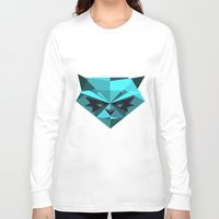 racoon Long Sleeve T-shirts featuring Rocky Racoon by rybbrybson