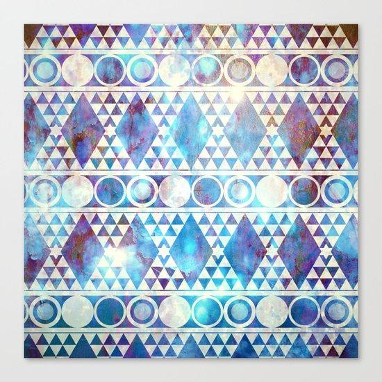 Tribal Storm Canvas Print