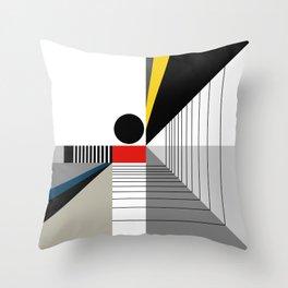 BLACK POINT Throw Pillow