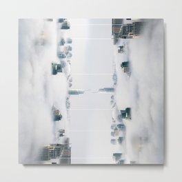 City surreal reflection Metal Print